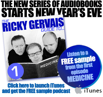 Download mp3 audiobook The Ricky Gervais Guide To... Medicine from iTunes GB